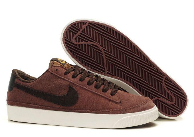 Nike Blazer low HOMME NBL10 Marron   Nike shoes   Pinterest ... ddd8439e876f