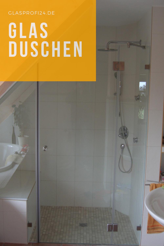Moderne Badgestaltung Mit Glas Duschabtrennung In 2020 Duschabtrennung Dusche Badgestaltung