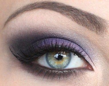 Pretty purple eyeshadow tutorial. by estelle