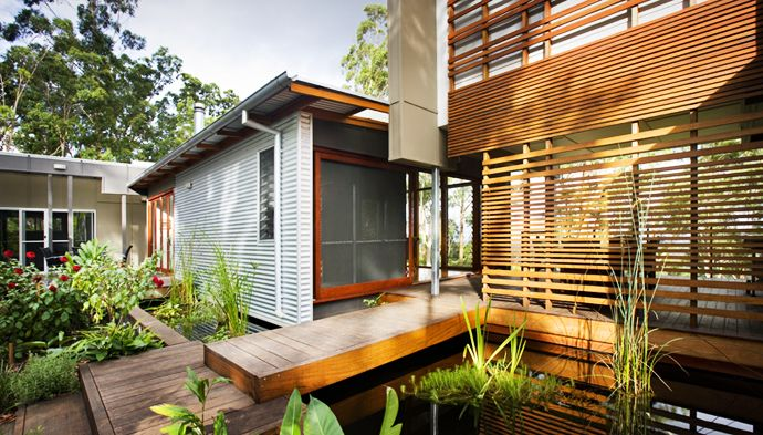 Sustainable Cottage In Australia With Beautiful Garden And Surroundings Building A House House Built House Design