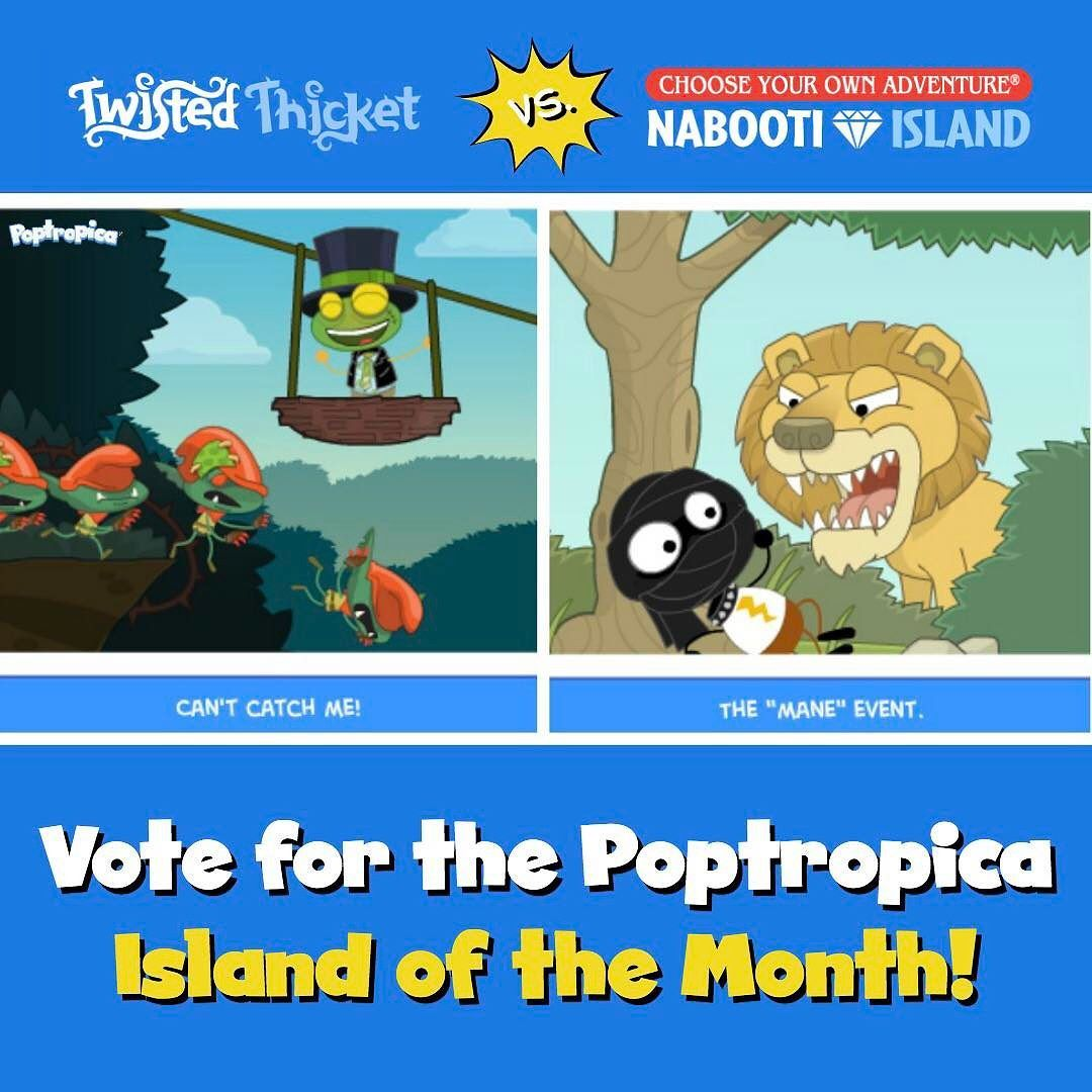 Vote vote VOTE for the May Island of the Month that YOU