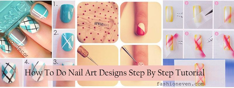 How To Do Nail Art Designs Step By Step Tutorial Diy Nail Art