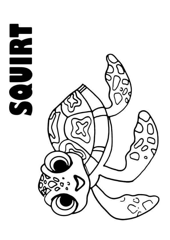 40 Cute Finding Nemo Coloring Pages For Your Little Ones Finding