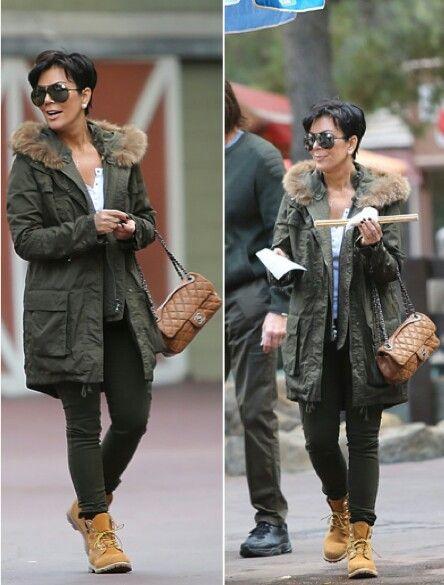 Kris Jenner Timberland yellow 6in shoes | FashionBeauty
