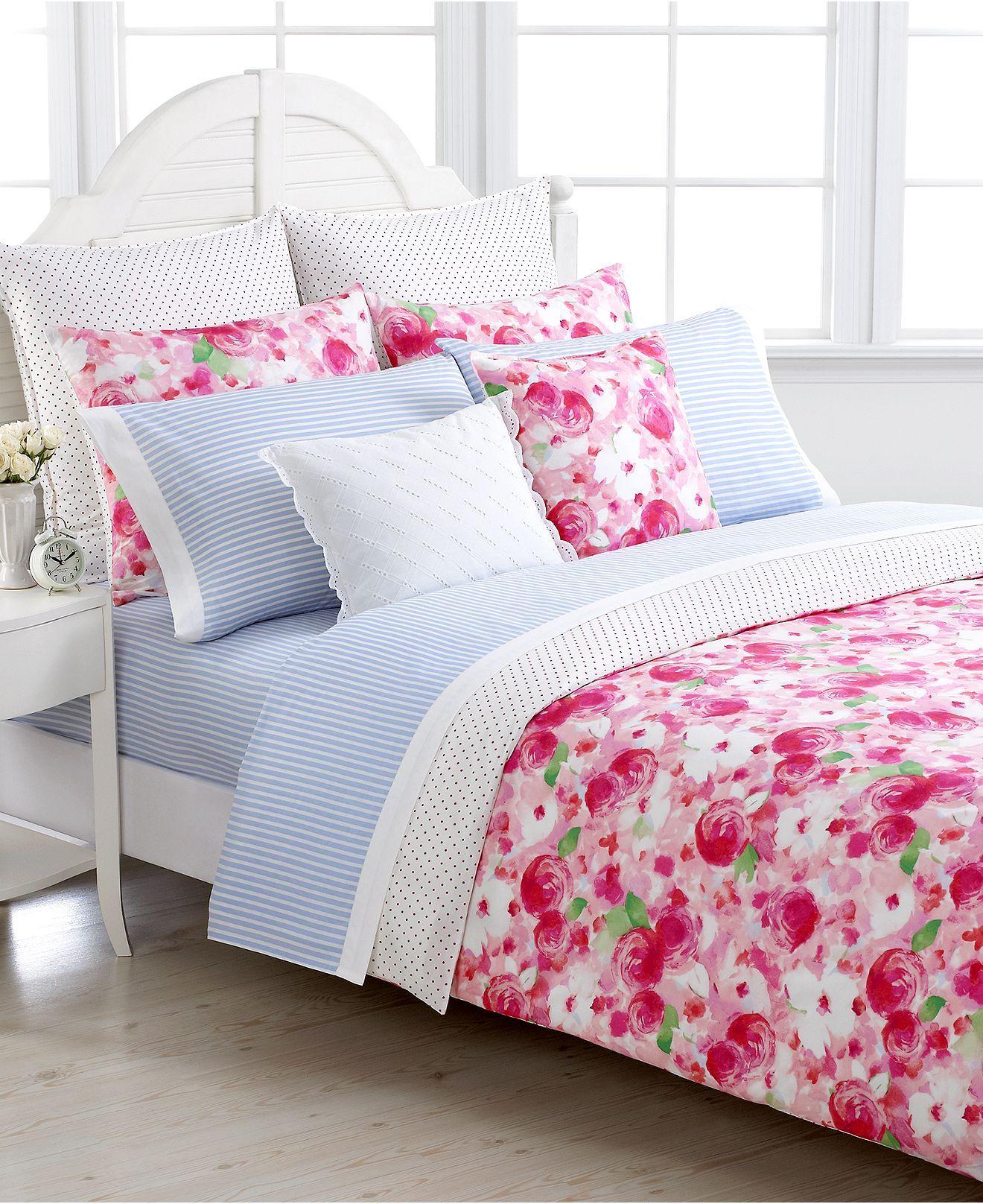 Tommy Hilfiger Bedding, Rose Cottage Full/Queen Duvet