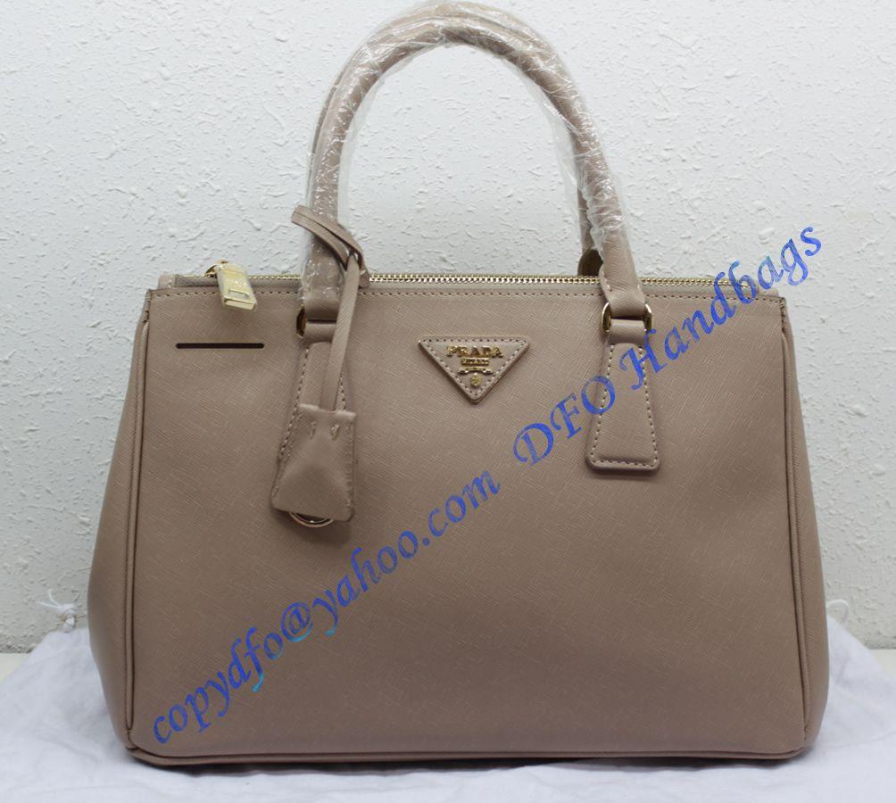 a1a6115712 Prada Saffiano Leather Tote P2274 light pink