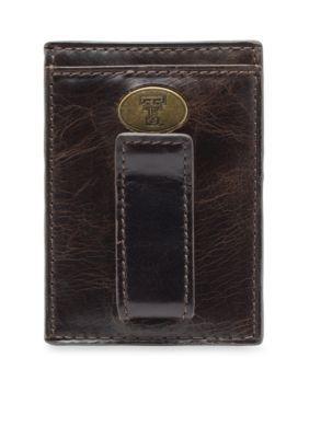 Jack Mason Brown Texas Tech Legacy Multicard Front Pocket Wallet