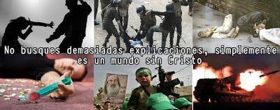 Carlos Martínez M_Aprendiendo la Sana Doctrina: UN MUNDO SIN JESUCRISTO