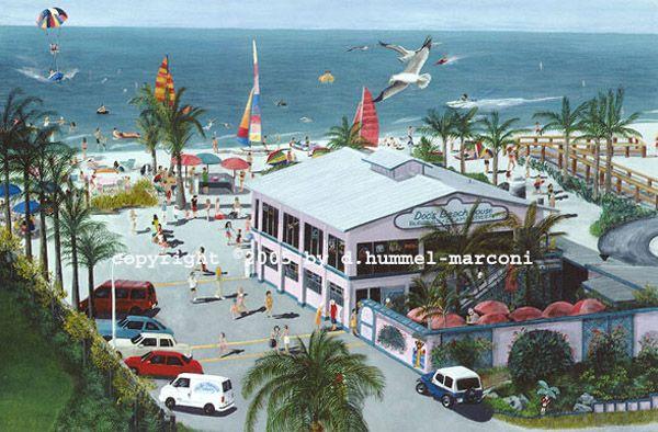 Doc S Beach House Bonita Springs Florida Art D Hummel Marconi
