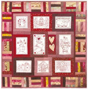Cotton Country Quilt. - Red Brolly | Stuff I want to make | Pinterest : red brolly wish quilt - Adamdwight.com