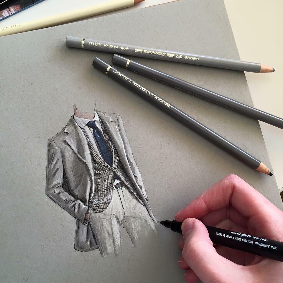 Phoebe Atkey On Instagram Art Drawing Pen Sketch Illustration Fashion Fashionill Fashion Illustration Sketches Fashion Drawing Fashion Design Sketches