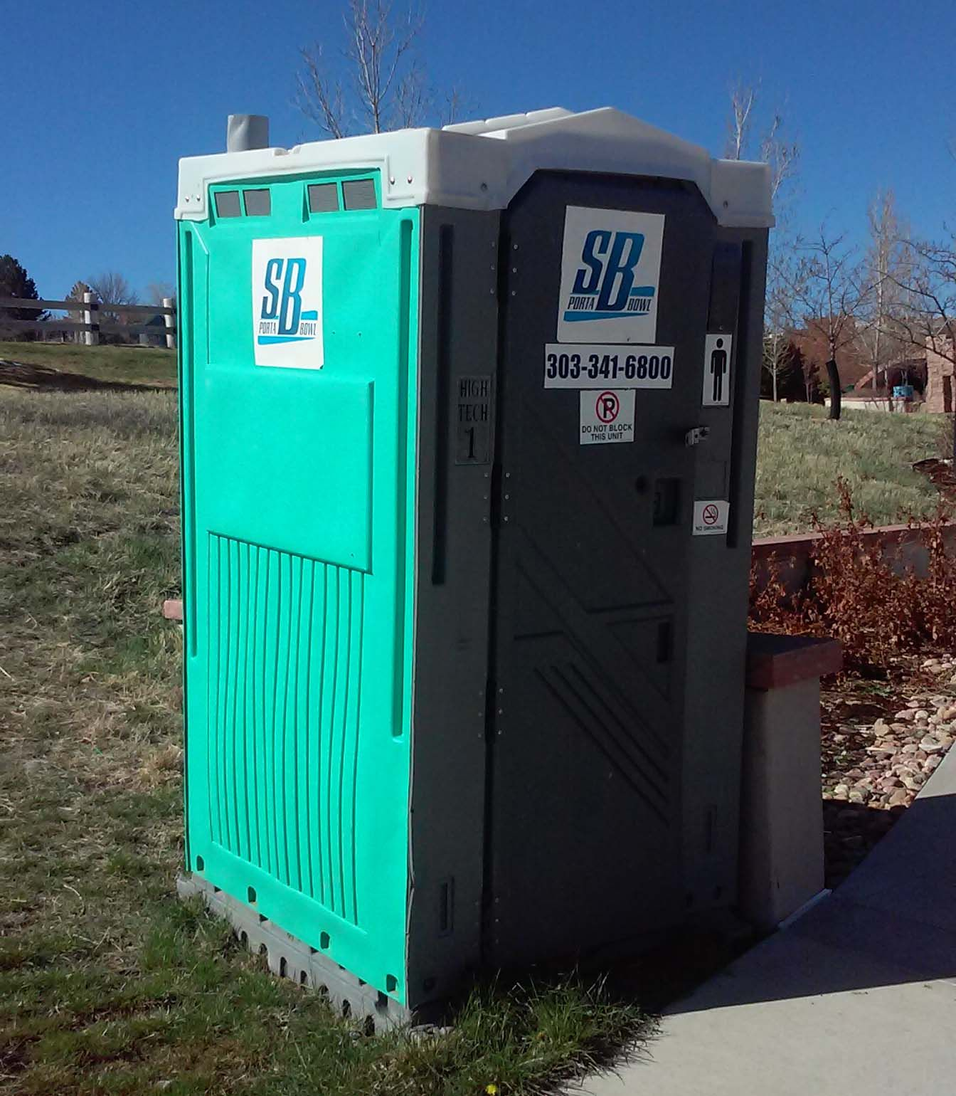 Porta potty rentals across the Colorado Front Range by S & B
