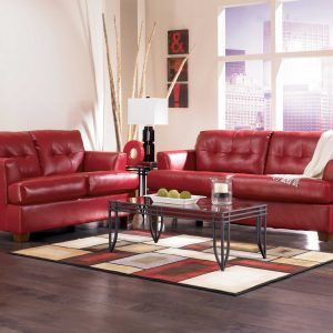 Living Room Decorating Ideas With Red Leather Couch