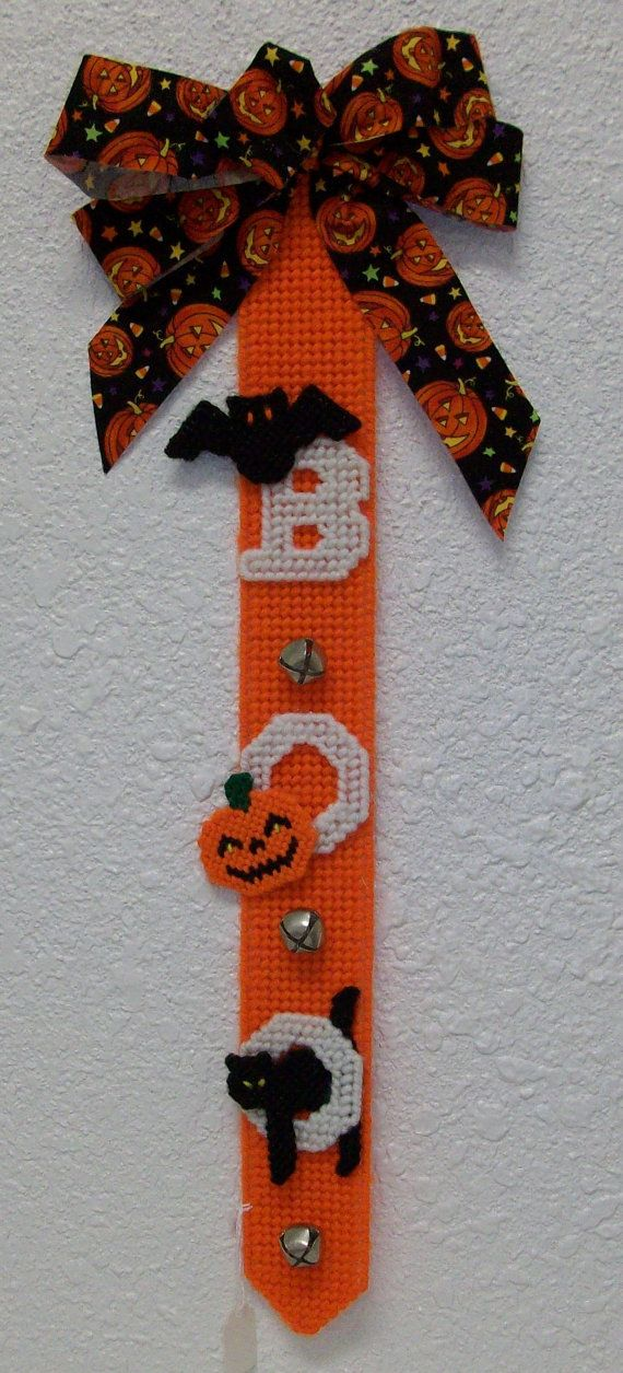 1705 Boo Door Hanging by CraftsbyRandC on Etsy, $1095 Halloween - scary door decorations for halloween