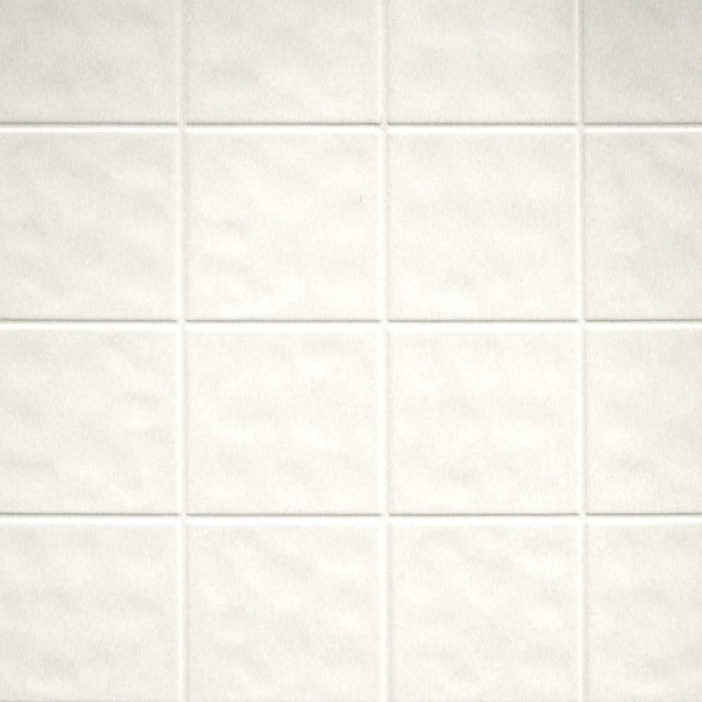 Aquatile 1/8 in. Toned White Tileboard-709108 at The Home Depot ...
