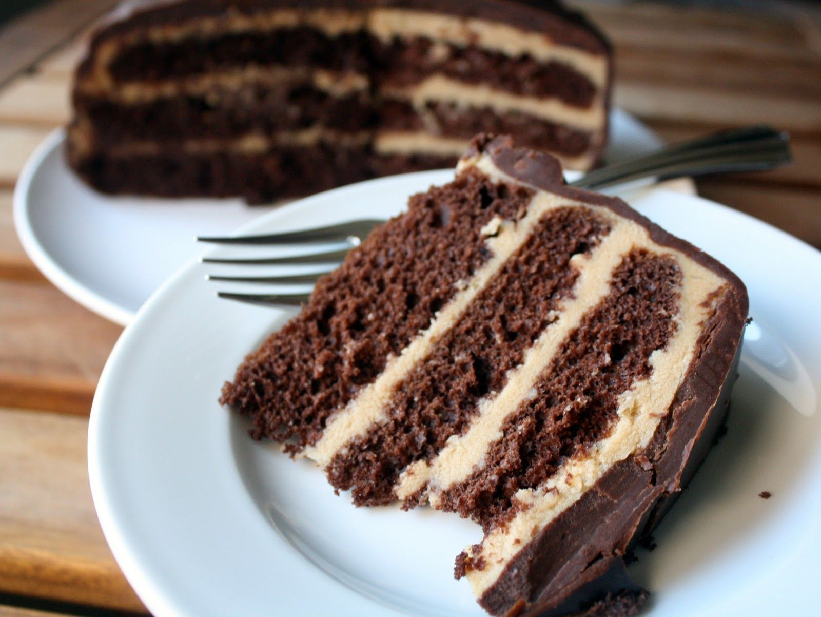 Make-Meals Mama: Chocolate Coffee Cake with Dark Chocolate Ganache