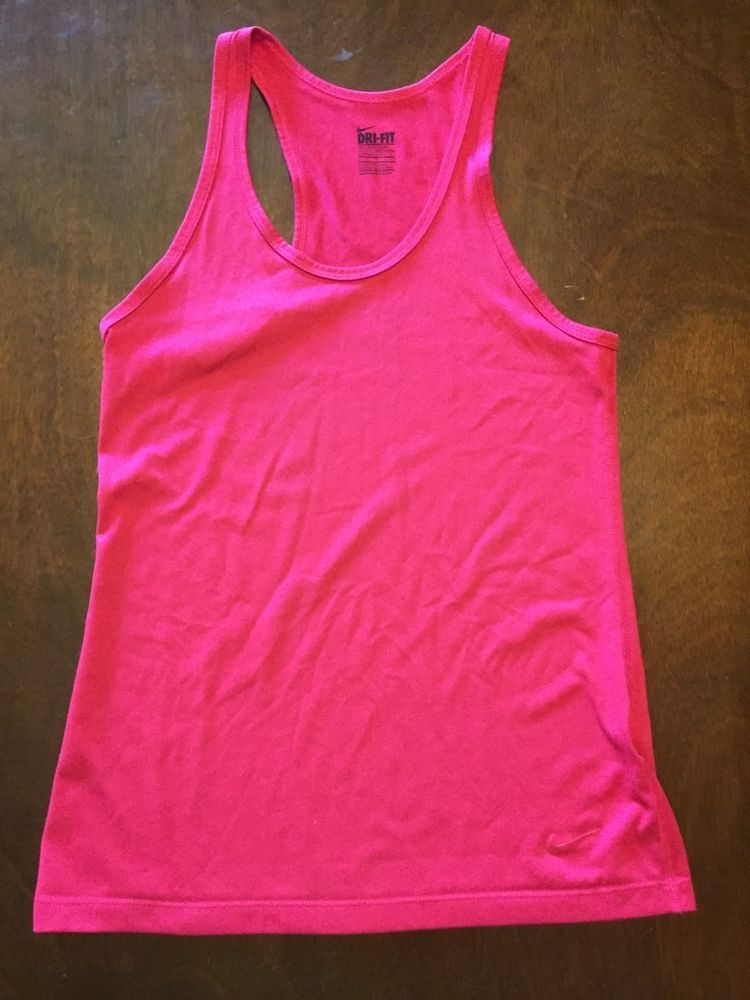 e8eab988d4f Women's Nike Dri Fit Legend running tank top size small pink #fashion  #clothing #shoes #accessories #womensclothing #activewear (ebay link)