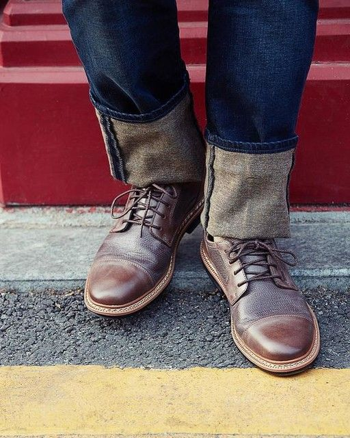 Men's Naples Trail Textured Leather Oxford Shoes | Timberland