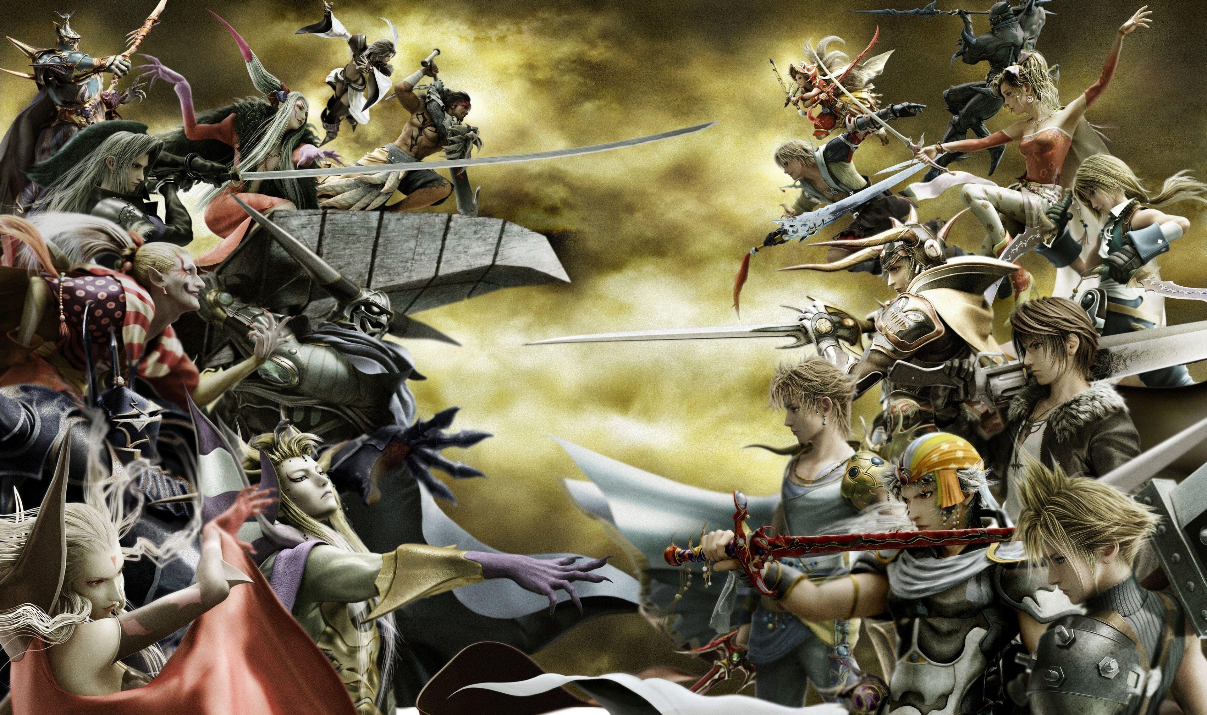 3840x2275 Dissidia Final Fantasy Nt 4k Full Hd Wallpapers New