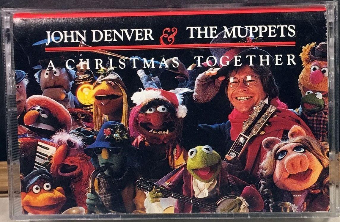 1988 cassette cover - John Denver & The Muppets | Muppets ...