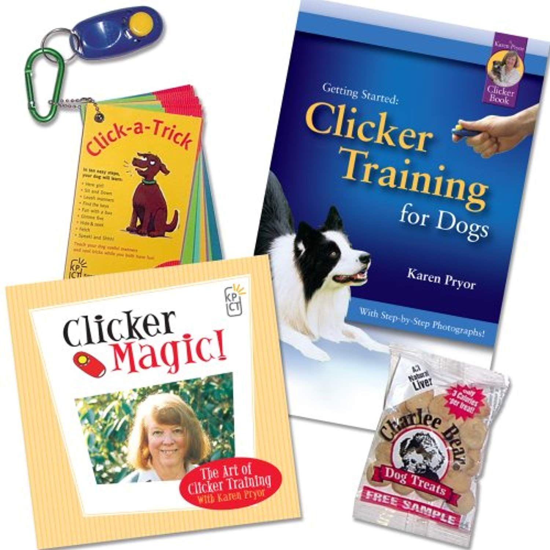 Karen Pryor Getting Started Clicker Training Kit For Dogs Plus