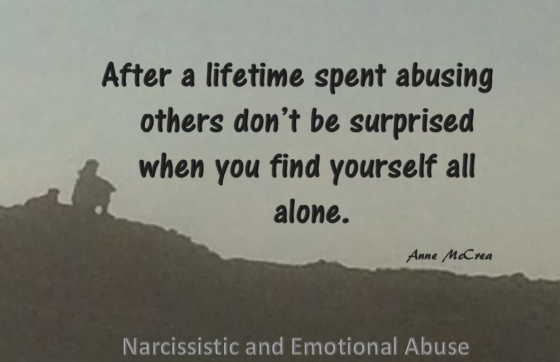 Find yourself alone | Recovery | Narcissist, Emotional abuse