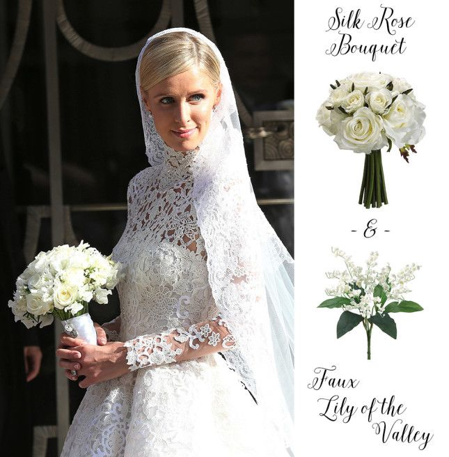 Celebrity Wedding Flowers Centerpieces: Get This Celebrity Wedding Bouquet For Less With Faux