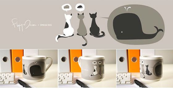 Dream Big - Mug by Flying Mouse