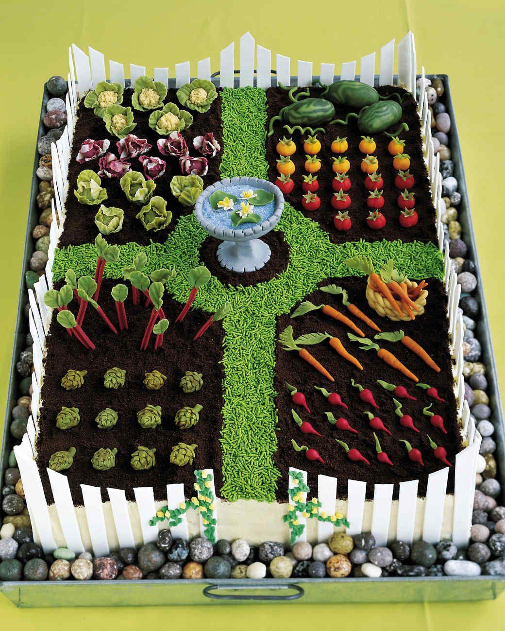 Spring Garden Cake Recipe
