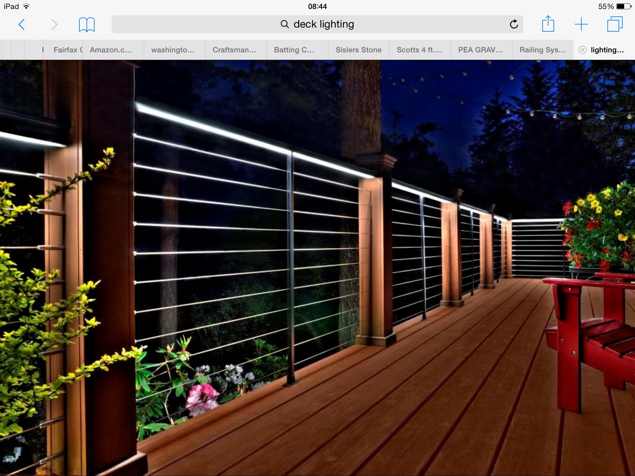 Elegant Under Deck Lighting Ideas