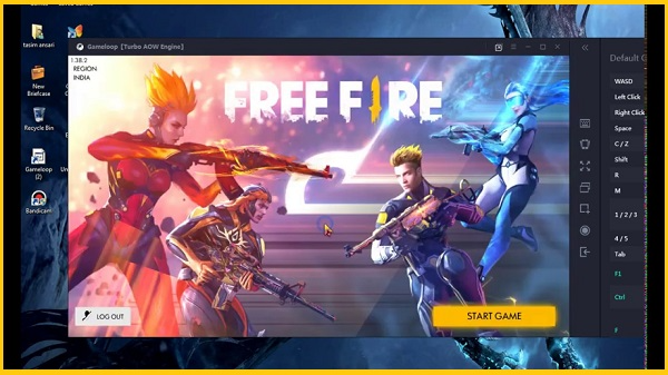 """""""Now"""" جيم لوب فري فاير   GameLoop Free Fire 2021"""