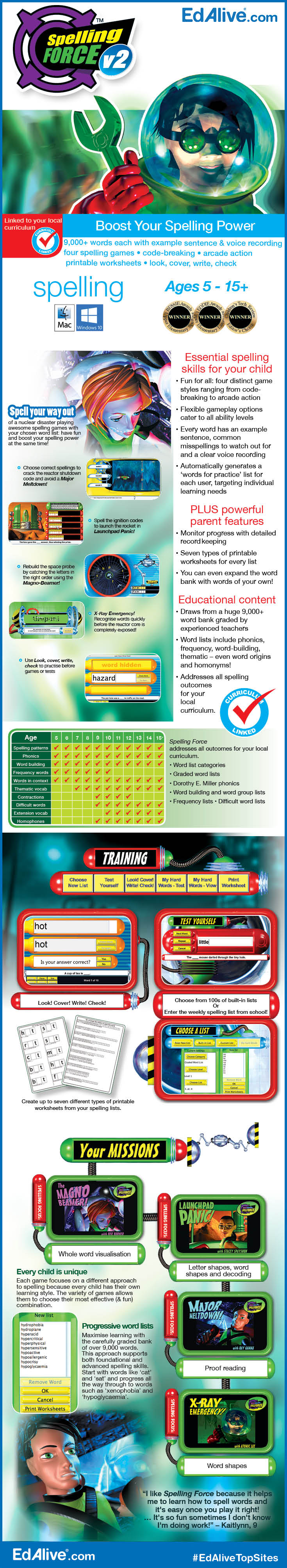 Worksheets Spelling Power Worksheets boost your spelling power with force v2 featuring over 9000 words each word