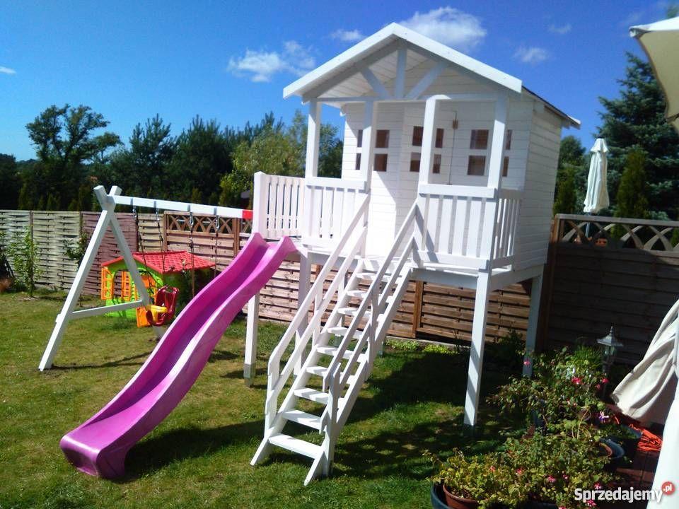 Domki Dzieci Place Zabaw Domek Drewniany Rychwal Sprzedam Play Houses Play Spaces House