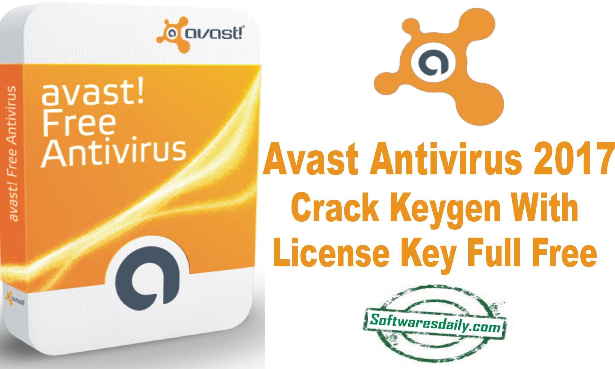 avast antivirus free crack keygen download