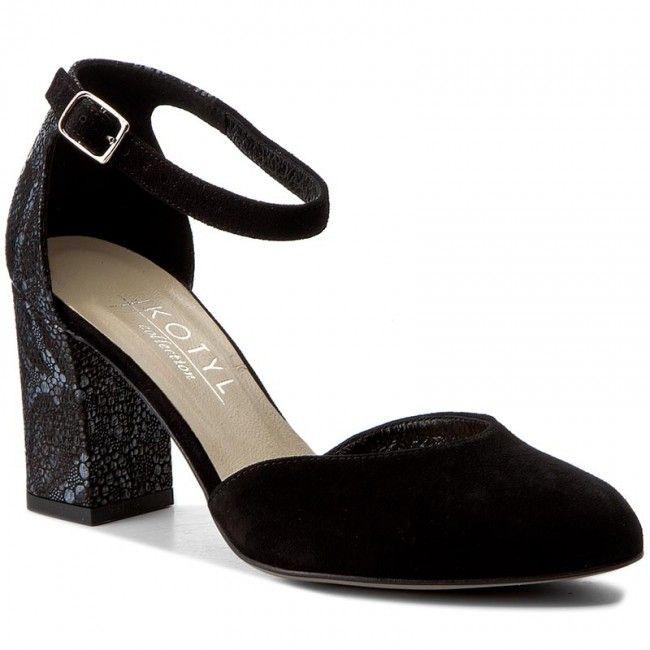 adidași prezentarea noi speciale Pantofi KOTYL - 7073 Czarny Zamsz   Heels, Shoes, Accessories