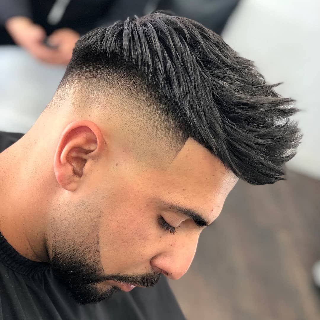 15 Awesome Types Of Fades Men S Hairstyles Fade Haircut Faded Hair Mens Hairstyles