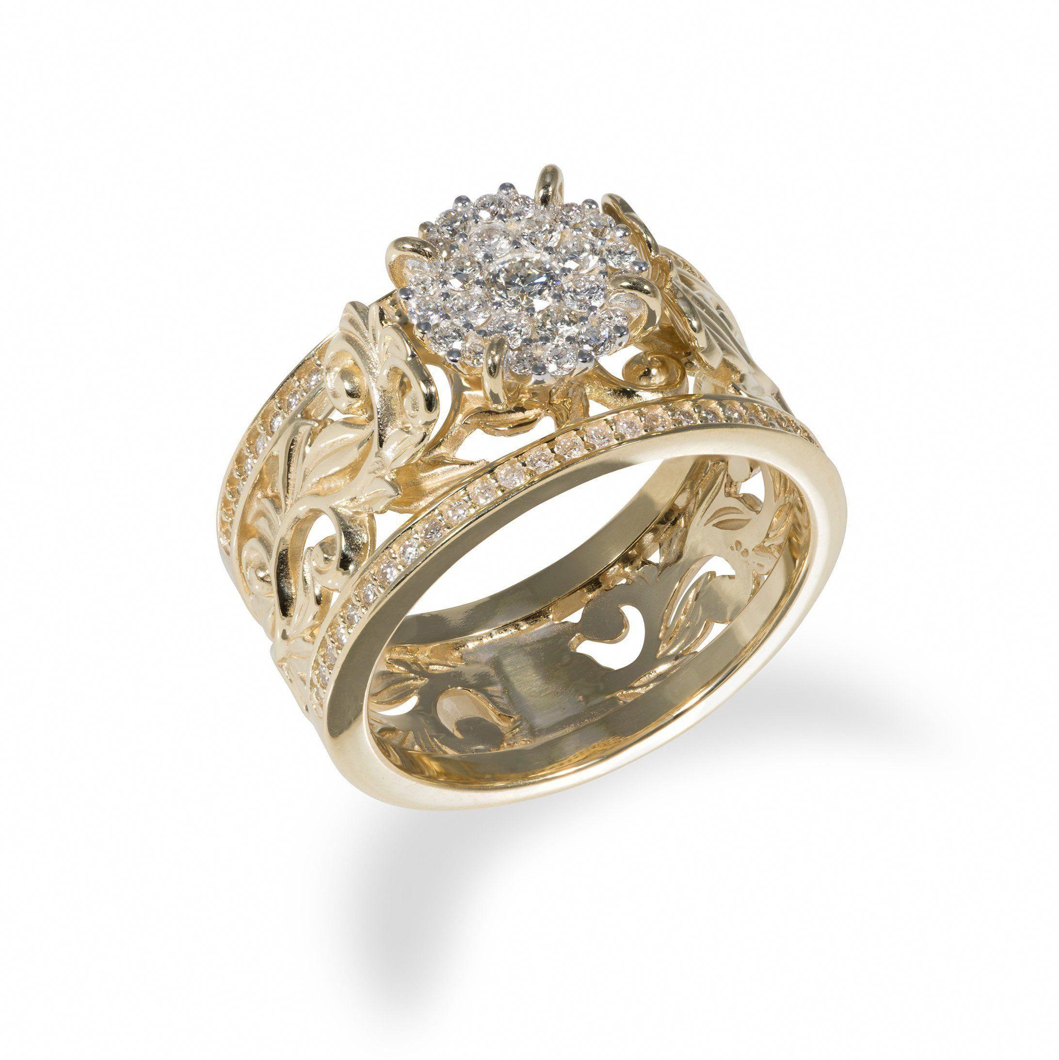 Platinum Wedding Ring / Braided Platinum Twist Band / 1