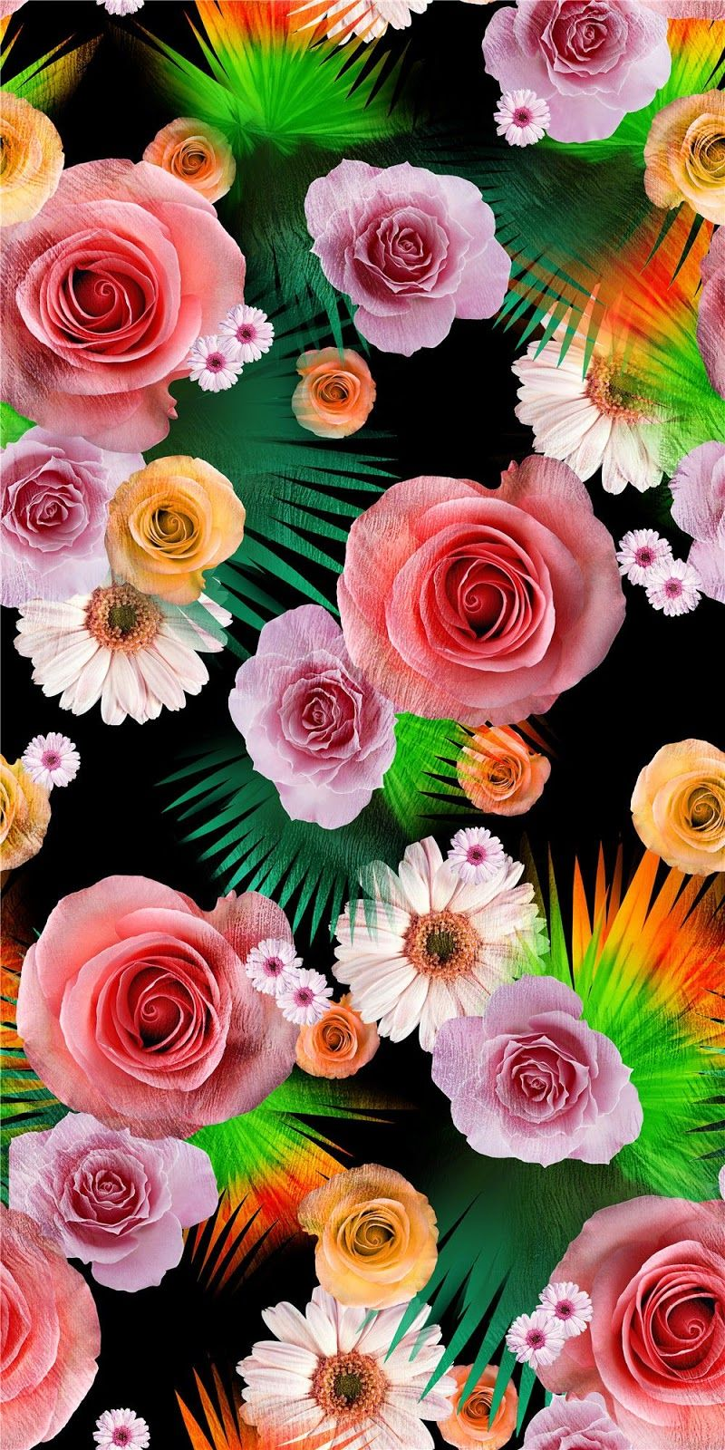 Free clipart,pattern and backgrounds,Art images,Textile digital ... for Flower Pattern Animated  29jwn
