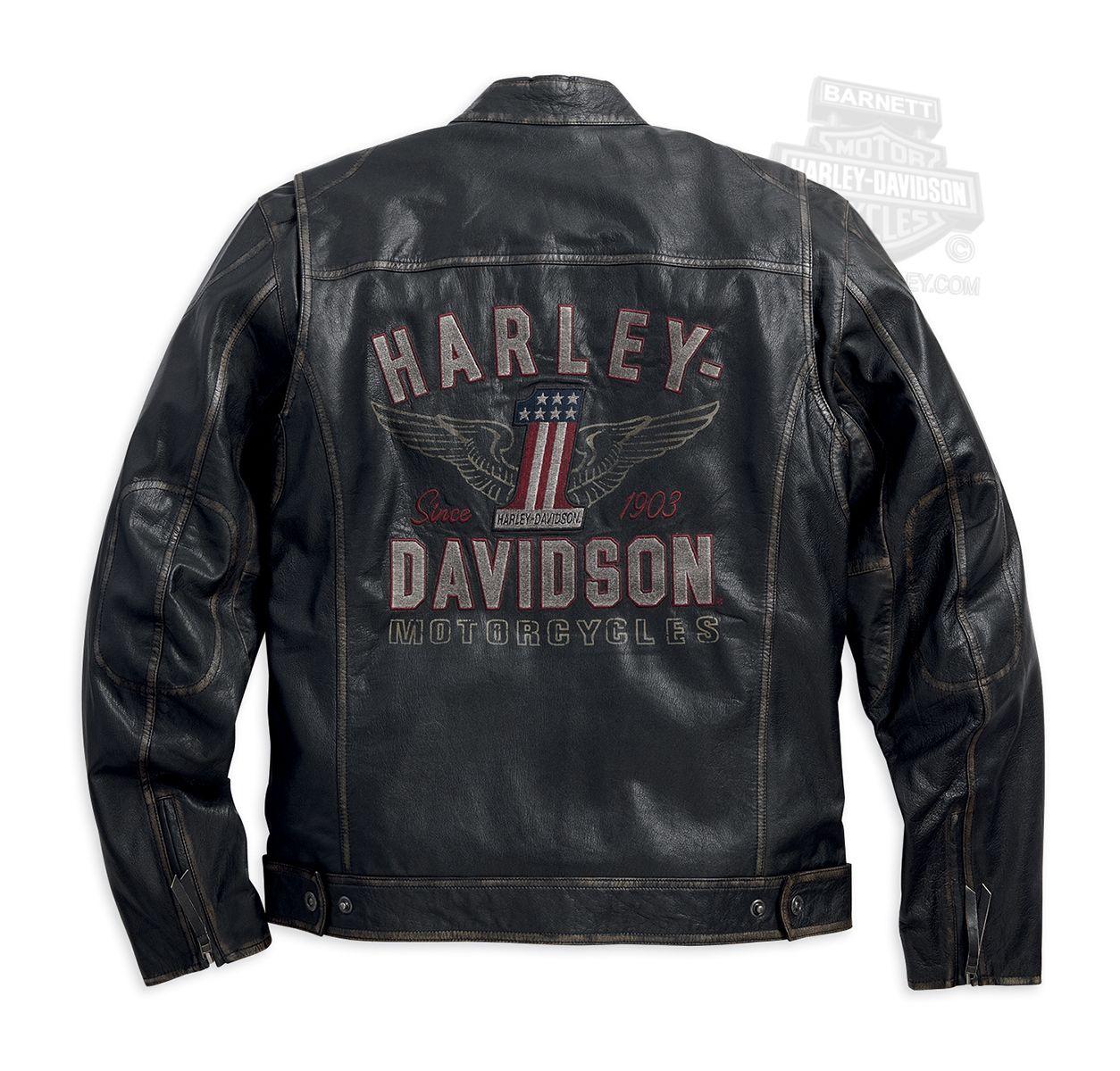 Harley Davidson 98089 15vm Harley Davidson Mens Long Way Winged 1 Washed Black Leathe Harley Davidson Leather Jackets Harley Jacket Harley Davidson Gear [ 1200 x 1254 Pixel ]