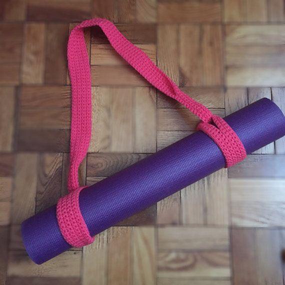 Crochet Yoga Mat Strap By Byjohannawithlove On Etsy Yoga