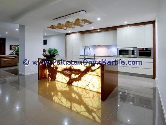 Backlit Onyx Kitchen Countertops Backlighting Onyx Kitchen Countertops Surrondings Backlit Onyx Kitchen Wal Luxury Kitchen Design Onyx Kitchen Elegant Kitchens