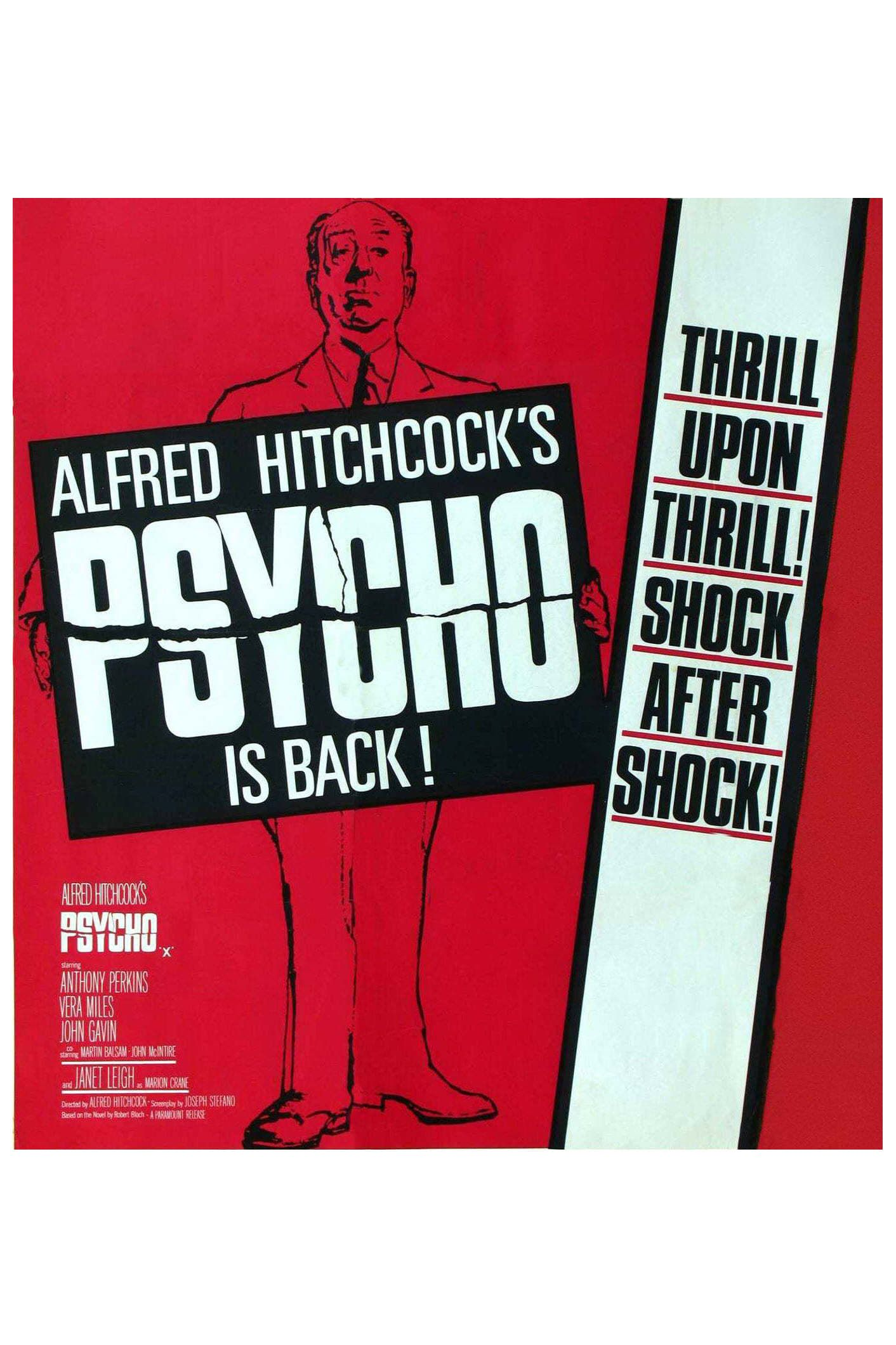 Psycho Film Completo Online Italiano Alfred Hitchcock Hitchcock Movie Posters