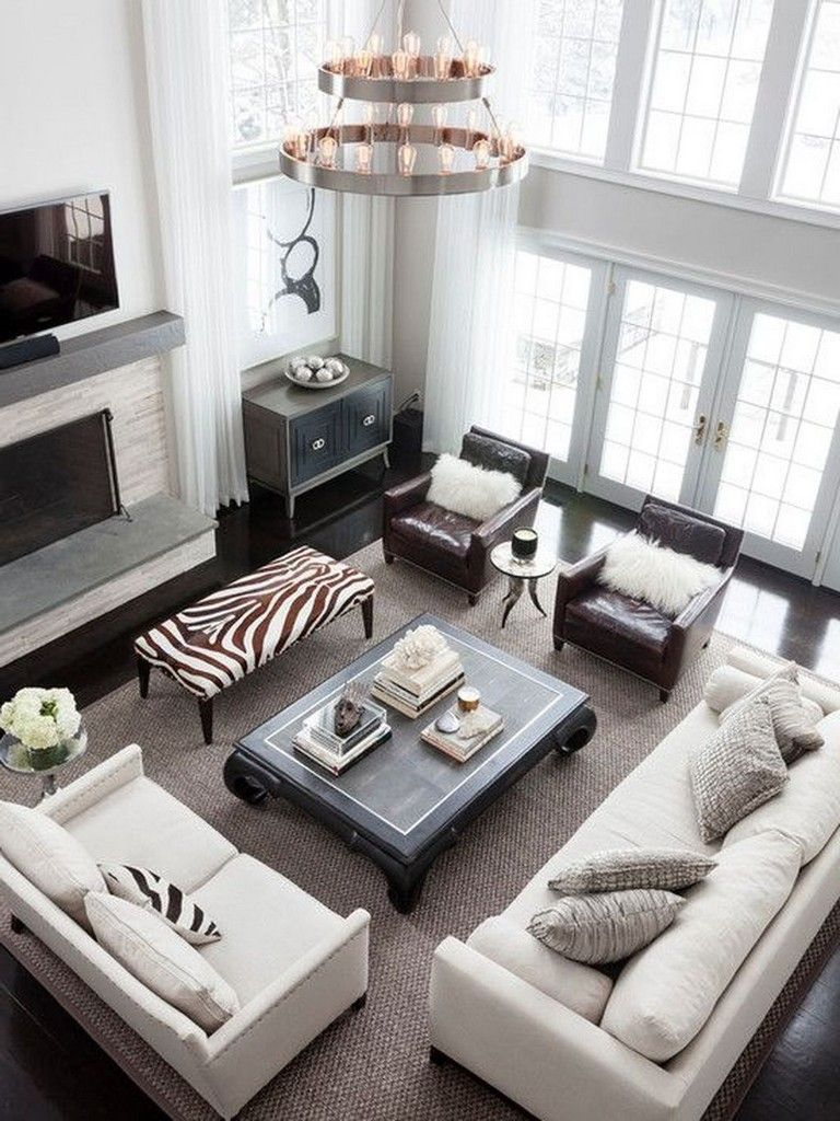 21 Staying Living Room Decor Ideas With Leather Sofa Livingroomideas Livingr Formal Living Room Decor Formal Living Room Designs Living Room Couch Placement
