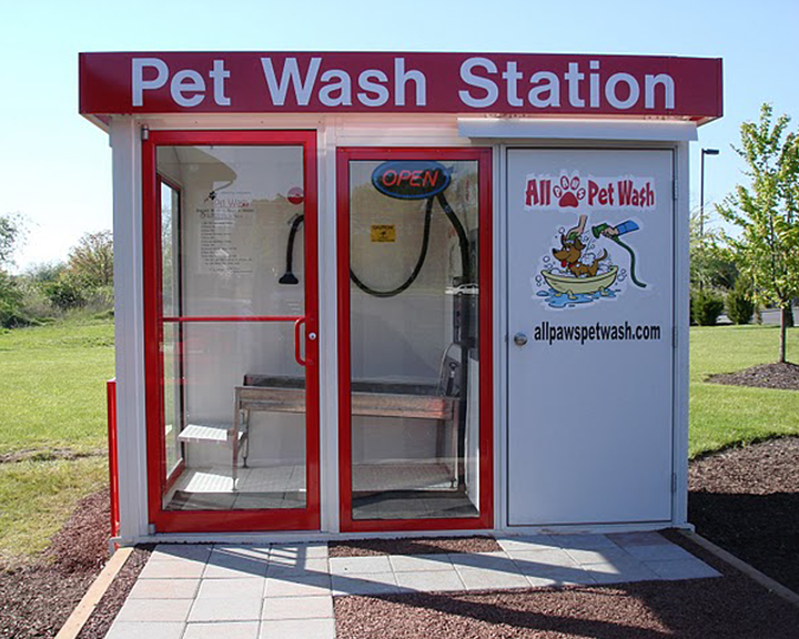 Dog wash installation berlin new jersey things done different self service dog wash station in england solutioingenieria Gallery