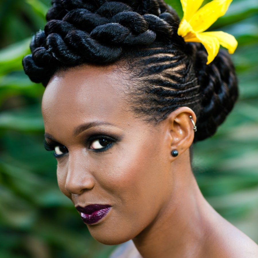 Pics Nairobi Salon Gives Natural Hair Makeovers To 30 Kenyan Women For Stunning Photo Series African Braids Hairstyles Pictures Natural Hair Styles Long Hair Girl