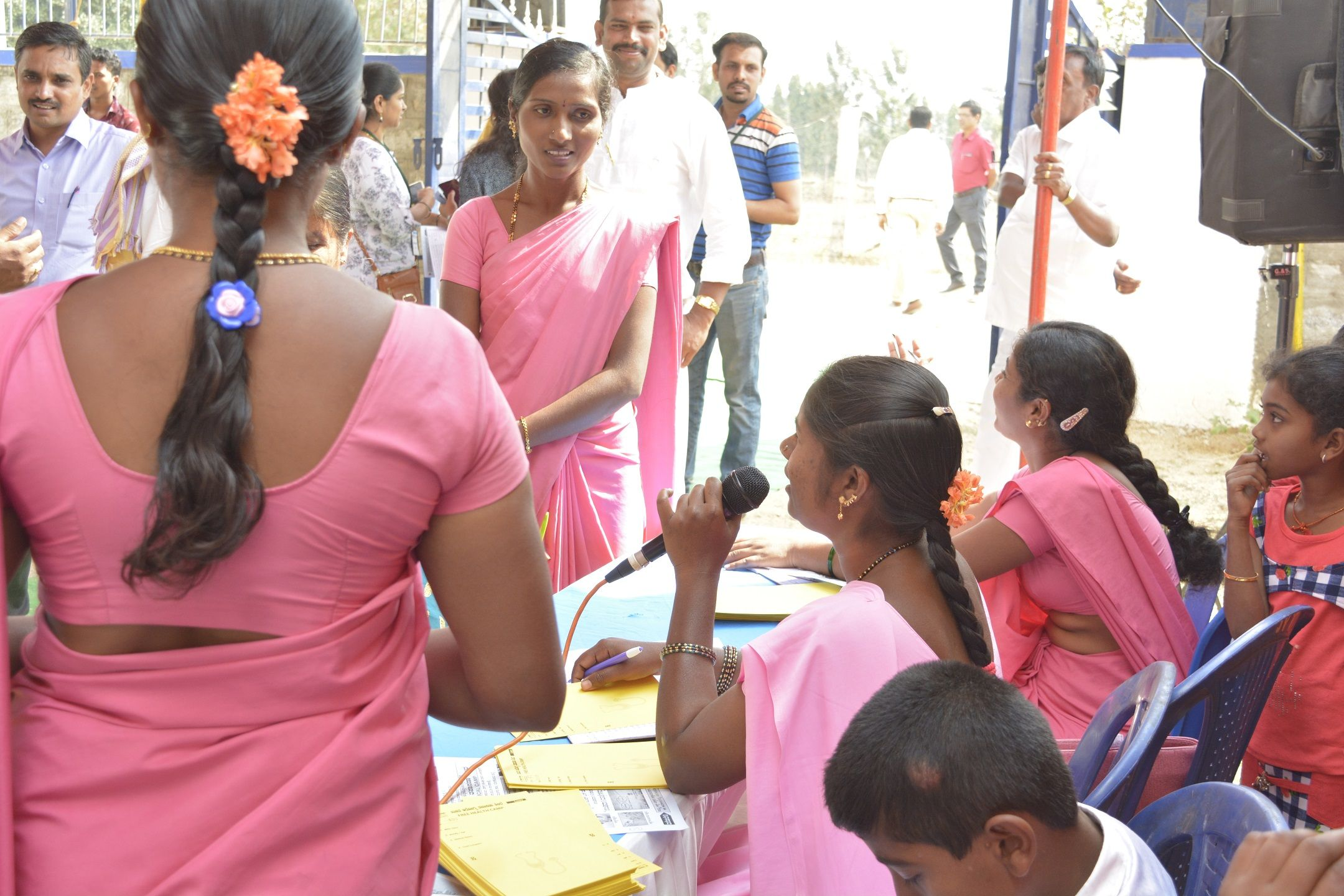 Outreach Program at Gangadharapalya Village in 2019   CSR projects