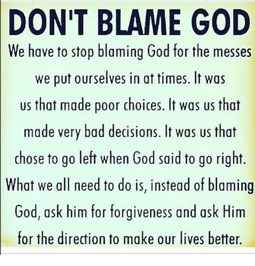 """What God's plan isn't: My expectations of how my life """"should"""" be"""