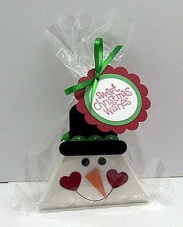 triangle box treat holder