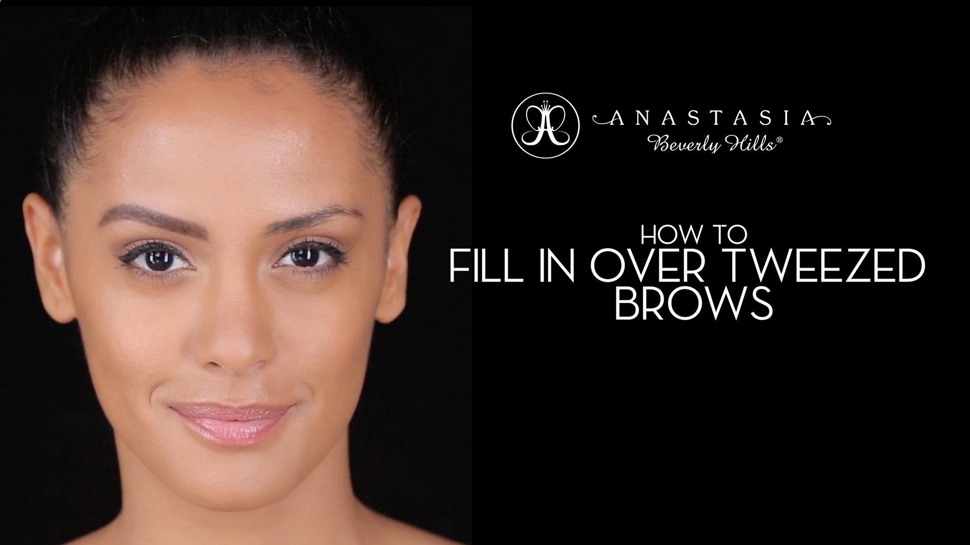 In This Video Anastasia Soare Demonstrates How To Fill In Over