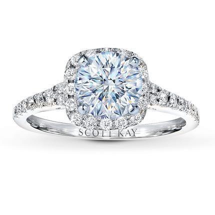 Jared The Galleria of Jewelry Scott Kay Ring Setting Wedding